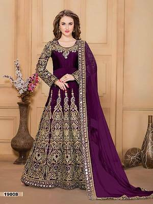 Wedding anarkali suit paskitani bollywood ethnic indian salwar kameez designer