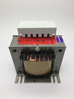 Panel Isolating Transformer 100VA PRI 380v/400v/440v SEC 110v