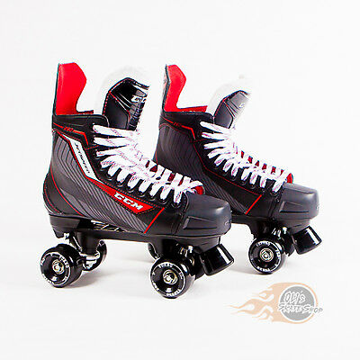 CCM Jetspeed 260 Quad Roller Skates - Bauer Style - Conversion - Ventro Wheels