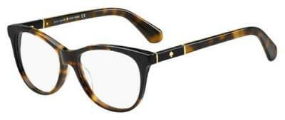 KATE SPADE Eyeglasses JOHNNA 0581 Havana Black 50MM