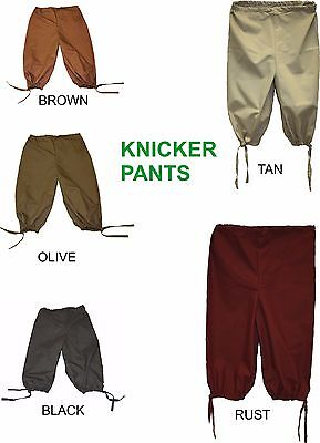 Renaissance Knicker Pants Pirate Medieval Adult Costume Theme Wedding Theater