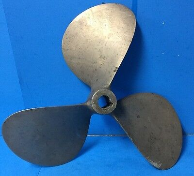LEFT HAND COLUMBIAN BRONZE PROP PROPELLER BOAT (D17 P17 LR S-40) Hi - Tail EY47