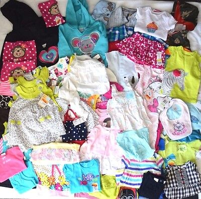 NEW 60+ Wholesale Liquidation Lot Toddler Baby Infant Clothing Carters Boy Girls
