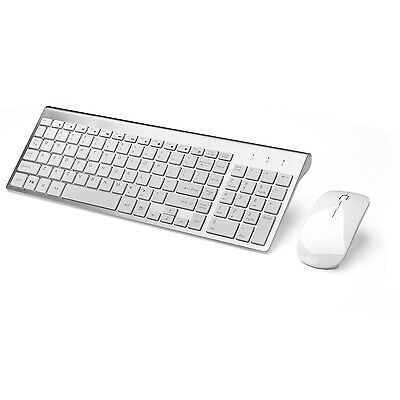 JOYACCESS Wireless Keyboards and Mouse Combo Full-size Whisper-quiet Comp... New