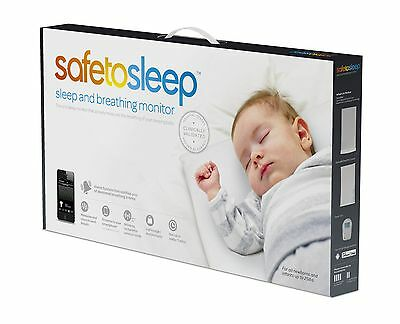 Safe To Sleep Sleep and Breathing Baby Monitor (Discontinued by Manufactu... New