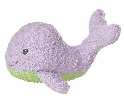 "Purple Whale Baby Noah's Ark 10"" Stuffed Animal New"