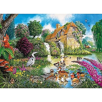 Gibsons The Old Watermill Jigsaw Puzzle (1000-Pieces) New