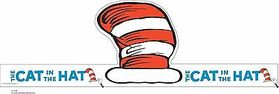 Paper Magic 861000 Eureka Dr. Seuss's Cat In The Hat Wearable Hat Cut-Out... New