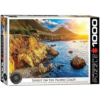 Eurographics Sunset on The Pacific Jigsaw Puzzle (1000-Piece) New