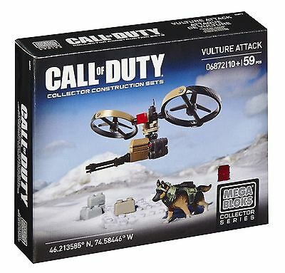 Mega Bloks Call of Duty Vulture Attack Building Set New