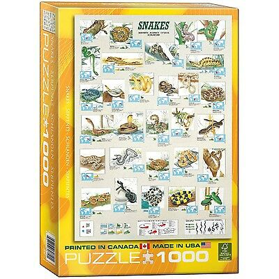 Snakes 1000-Piece Puzzle New