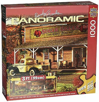 Masterpieces Suger Creek Cider Mill Panoramic Jigsaw Puzzle (1000-Piece) ... New