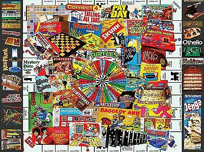 White Mountain Puzzles Favorite Games Jigsaw Puzzle (300-Piece) New