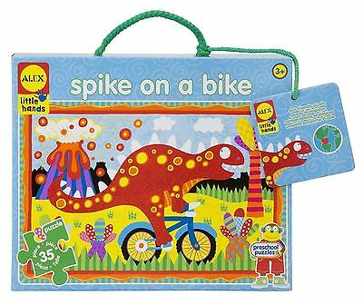 ALEX Toys - Early Learning Giant Puzzle - Spike On A Bike - Little Hands ... New