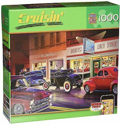 Masterpieces Phil's Diner Cruisin' Jigsaw Puzzle (1000-Piece) New