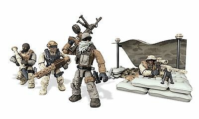 Mega Bloks Call of Duty Desert Squad Playset New