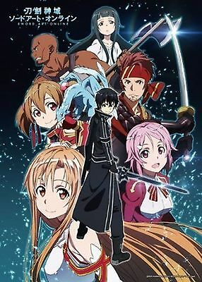 Great Eastern GE-53003 Sword Art Online Group Jigsaw Puzzle (520 Pieces) New