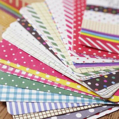 Masking Sticker Washi Tape Spots Stripe Scrapbooking Journalling Set - 27 Sheets