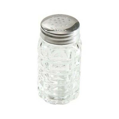 Winco G-118 Classic Shakers with Flat Tops 2-Ounce Medium Clear Stainless... New