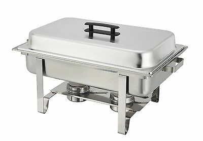 Winware 8 Qt Stainless Steel Chafer Full Size Chafer New