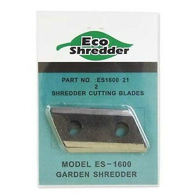 Eco-Shredder ES1600-21 Replacement Double Sided Cutting Blades for ES1600... New