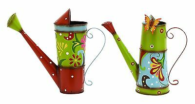Deco 79 55125 Metal Decorative Water Can Sculpture 13 by 12-Inch Assorted New