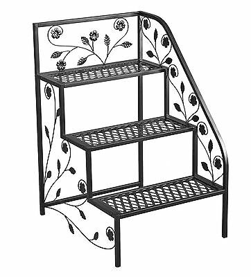 Tierra Garden 39-100362R 3-Tier Right Corner Plant Stand 19.5 by 23.5 by ... New
