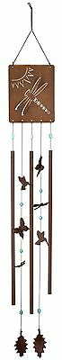 Woodstock Chimes Victorian Garden 52-Inch Long Windchime Meadow New