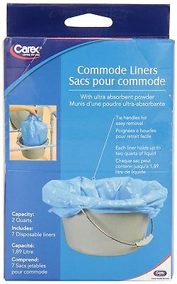 Carex Commode Liners 1 Count New
