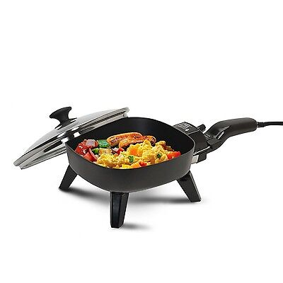 Maxi-Matic EFS-400 Elite Cuisine 7-Inch Non-Stick Electric Skillet with G... New