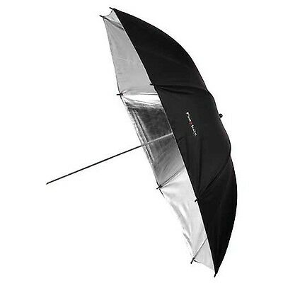 Fotodiox Premium Grade Studio Umbrella 43-Inch Black and Silver Reflectiv... New