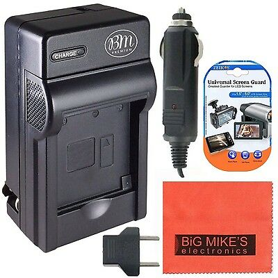 DMW-BCF10 Battery Charger for Panasonic Lumix DMC-TS2 DMC-TS3 DMC-TS4 DMC... New