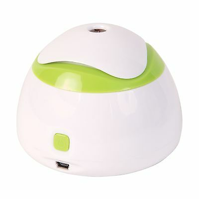 HealthSmart Travel Mate Personal Ultrasonic Cool Mist USB Humidifier Quie... New