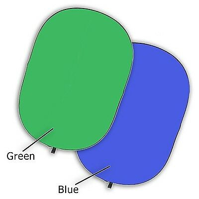 Fotodiox Chromakey Green and Blue Jacket Cover fits 48x72-Inch 5-in-1 Ova... New
