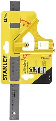 STANLEY 46-028 12-Inch English/Metric Combination Square New