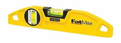 STANLEY 43-605 FatMax 2-Vial Torpedo Level New
