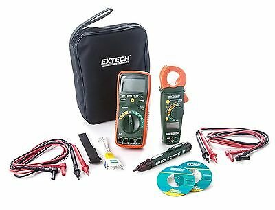 Extech TK430 6-Piece Electric Test Combo Kit New