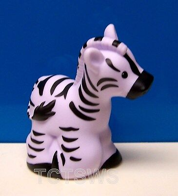 Fisher Price Little People Zoo Animal Friends ZEBRA Figure 2017 NEW