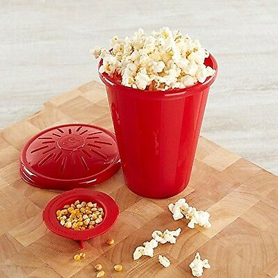 Joie Microwave Popcorn Maker (red) - Pack Of 2 New