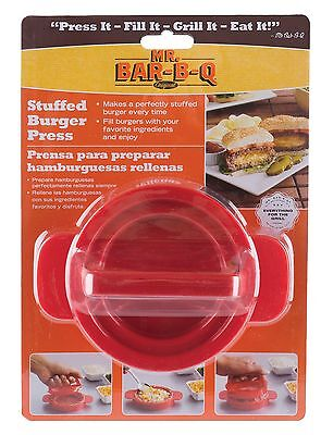 MR BAR B Q 40232SBX Stuffed Burger Press New
