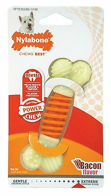 NYLABONE Pro Action Dental Bacon Flavor Chew Small Each New