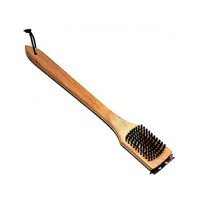 Grill Zone 43004 Wood Grill Brush 18-Inch New