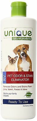 Unique Natural Products 41A-1 RV Pet Odor and Stain Eliminator 24-Ounce R... New