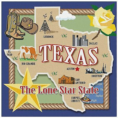 Thirstystone Occasions Trivet True Texas Multicolor New