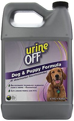 Urine Off PT6009 Odor and Stain Remover Dog Formula 1 Gallon New