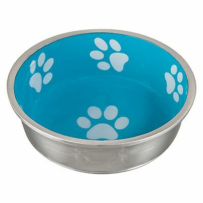 Loving Pets Robusto Bowl for Small Dogs and Cats X-Small Aqua New