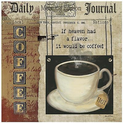 Thirstystone Occasions Trivet Coffee Heaven Multicolor New