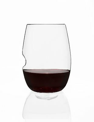 Govino 3103 Classic 16 oz Wine Glass-4 Pack Gift Box Clear New