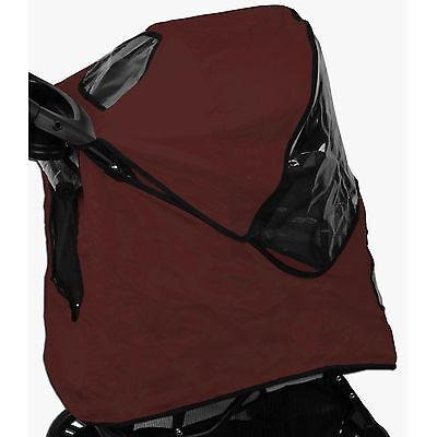 Pet Gear PG8400BGWC Weather Cover for Jogger Pet Stroller Burgundy New