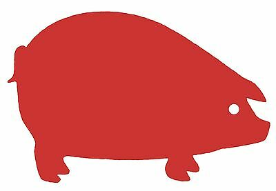 Cork Nature 490416 Korko Farm Collection Trivets Red Pig New